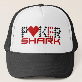 トランプのポーカーの鮫の帽子 キャップ