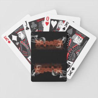 トランプのポーカーまたはトランプの悲劇的な皇族の」版を凹めて下さい バイスクルトランプ