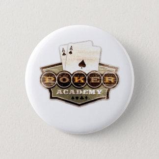 トランプのポーカーアカデミー 缶バッジ