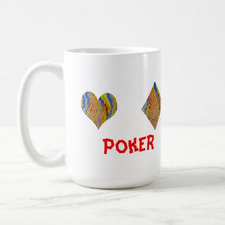 トランプのポーカー夜選手権 コーヒーマグカップ