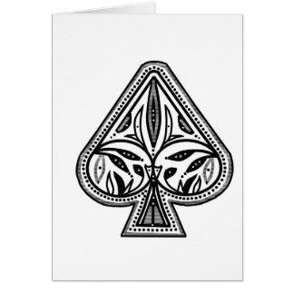 トランプのポーカー踏鋤項目をカスタマイズ カード