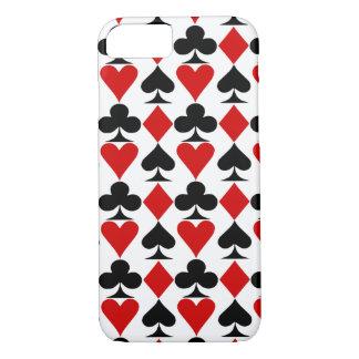 トランプのポーカー、賭博 iPhone 8/7ケース