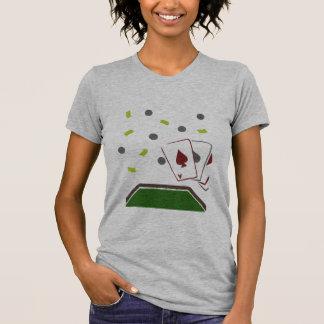 トランプのポーカー Tシャツ