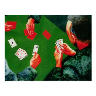 トランプゲーム1988年 ポストカード