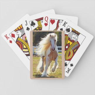 トランプ一組の美しい馬 トランプ