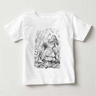 トランプ! 不思議の国のアリス ベビーTシャツ