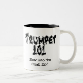 トランペット101 ツートーンマグカップ