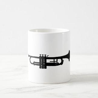 トランペット コーヒーマグカップ