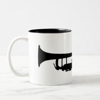 トランペット ツートーンマグカップ