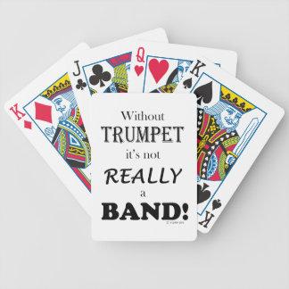 トランペット-バンドなし バイスクルトランプ