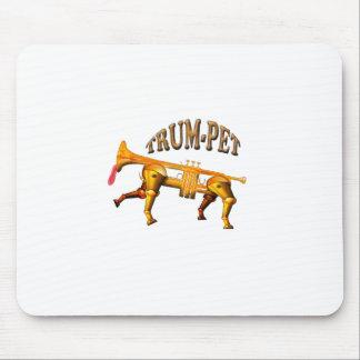 トランペット マウスパッド