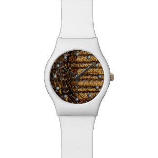 トラ及びチータ音楽ノートの無秩序の回転 腕時計