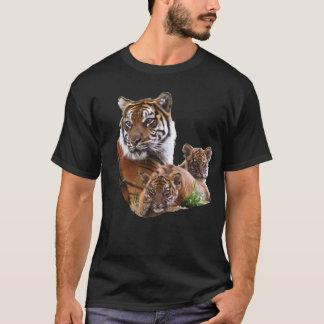 トラ家族 Tシャツ