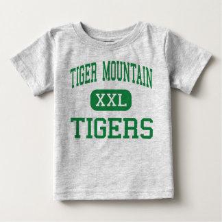 トラ山-トラ-コミュニティ- Issaquah ベビーTシャツ