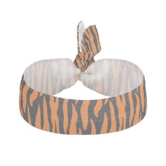 """""""トラ""""はヘアタイを縞で飾ります ヘアタイ リボン"""