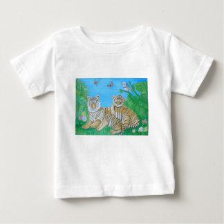 トラ ベビーTシャツ