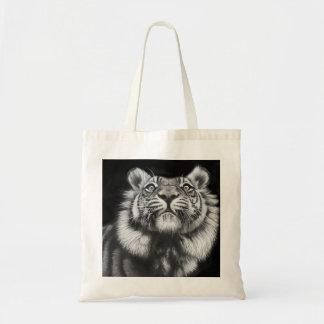 トラ(私の元の油絵から) トートバッグ
