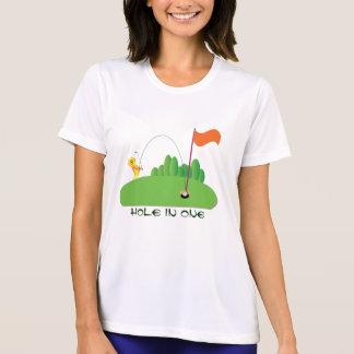 トラ:: 1つの穴 Tシャツ