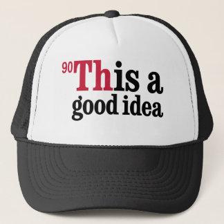 トリウム-これはよいアイディアです キャップ