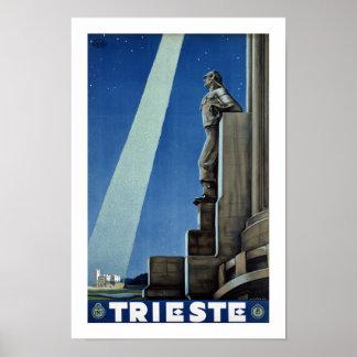 トリエステ ポスター