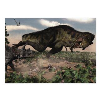 トリケラトプスでとどろくティラノサウルス・レックスのレックス カード