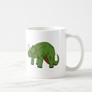 トリケラトプスのコーヒー・マグ コーヒーマグカップ
