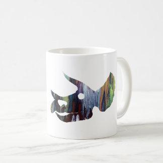 トリケラトプスのスカルの芸術 コーヒーマグカップ