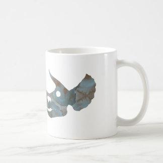 トリケラトプスのスカル コーヒーマグカップ