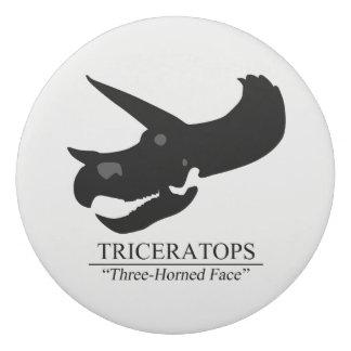 トリケラトプスのスカル 消しゴム