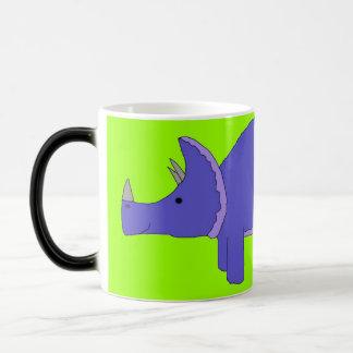 トリケラトプスのマグ モーフィングマグカップ