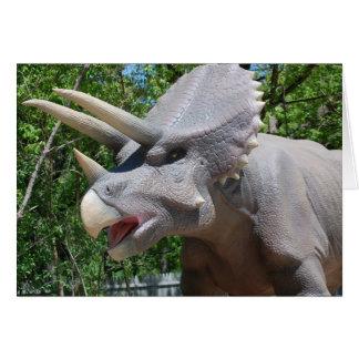 トリケラトプスの恐竜 カード
