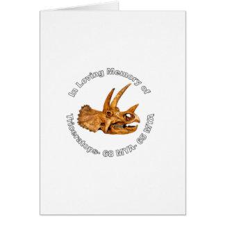 トリケラトプスの記憶 カード