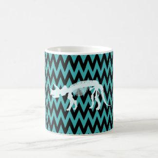 トリケラトプスの骨組 コーヒーマグカップ