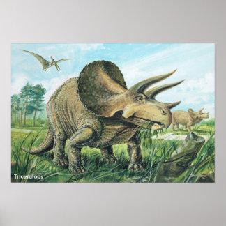 トリケラトプスポスター ポスター