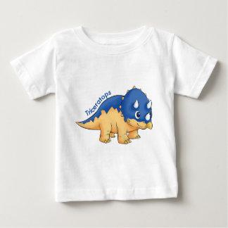 トリケラトプス ベビーTシャツ