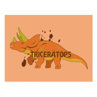 トリケラトプス ポストカード