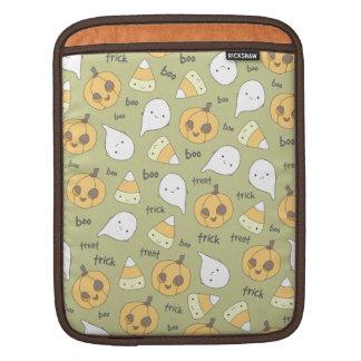 トリックの御馳走ブーイングのハロウィンのiPadの袖 iPadスリーブ