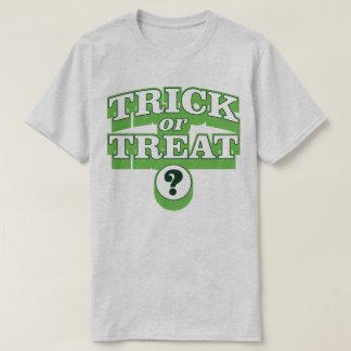 トリック・オア・トリートのハロウィンの衣裳のスローガンのTシャツ Tシャツ