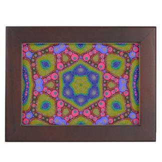 トリップ(幻覚体験)のようなでサイケデリックな抽象芸術 ジュエリーボックス