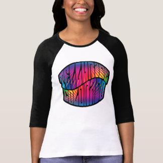 トリップ(幻覚体験)のようななテルル化物のヒッピー Tシャツ