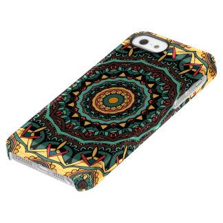 トリップ(幻覚体験)のようなな曼荼羅のPermafrost®のディフレクターの箱 Permafrost iPhone SE/5/5sケース