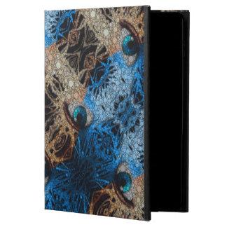 トリップ(幻覚体験)のようなな青い目の抽象芸術 POWIS iPad AIR 2 ケース