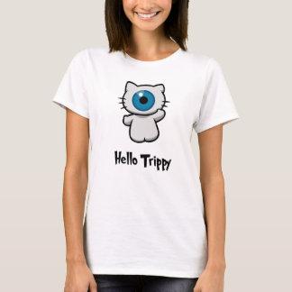 トリップ(幻覚体験)のようななTシャツこんにちは Tシャツ