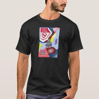 トリップ(幻覚体験)のような警笛を鳴らさないで下さい Tシャツ