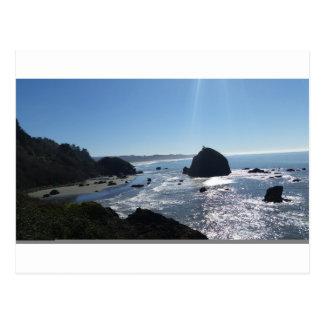 トリニダードの沿岸ビーチの眺め ポストカード