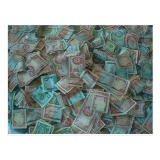 トリニダードの通貨 ポストカード