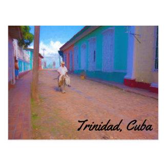 トリニダードキューバの郵便はがき ポストカード