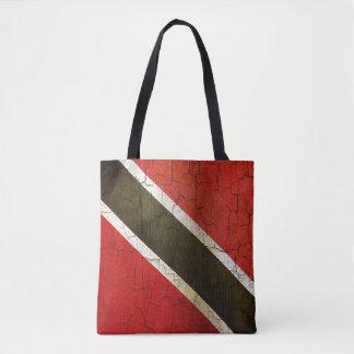 トリニダードトバゴのグランジな旗 トートバッグ
