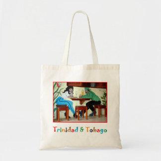 トリニダードトバゴのラム酒の店場面 トートバッグ