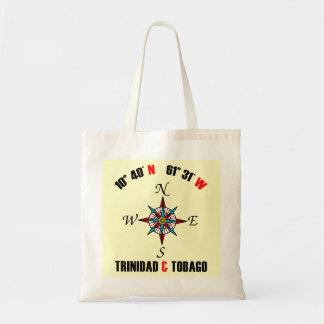 トリニダードトバゴの地理的位置 トートバッグ